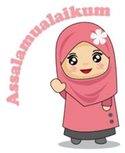 Ameena is Muslimah. She is good ,polite and lovely girl. She is not good at cooking, but she need to get better at it. Preschool Art Activities, Anime Muslim, Cartoons Love, Line Sticker, Doraemon, Emoticon, Animated Gif, How To Draw Hands, Doa Islam
