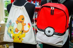 These DIY Pokemon Go backpacks are the perfect back to school accessory! For more school DIYs, watch Home & Family weekdays at 10a/9c on Hallmark Channel!