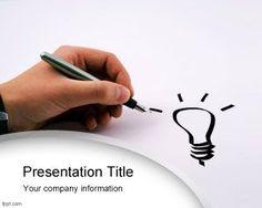 Bright idea PowerPoint Template