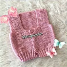 Frocks, Baby Knitting, Knitted Hats, Crochet Top, Baby Shoes, Vest, Baby Knits, Clothes, Tops