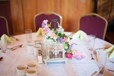 DIY Floral Vintage Inspired Lantern Centerpieces