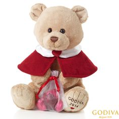 Exclusive 2014 Pierre the Bear by Gund® #GODIVA