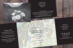 Mt Cook Custom Wedding Invitation