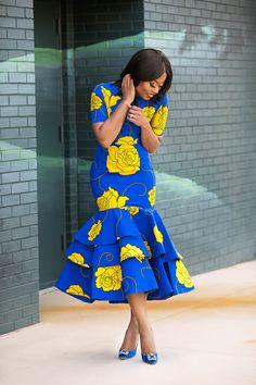 tiered dress, ankara dress, best dressed guest, www.jadore-fashion.com