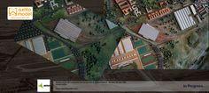 Restauración de la maqueta del aeropuerto madrid barajas, restauración, maquetas, scale model, restauración de maquetas, reintegración, restauradora, grupo axfito, axfito model, empresas de maquetas