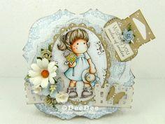 DeeDee´s Card Art: ♥ Copic Marker Deutschland DT-Video: Paletten-Technik ♥