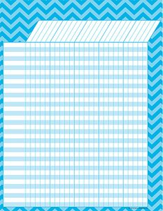 - Aqua Chevron Incentive Chart, Convenient, useful learning tools that decorate as they educate! Each chart measures by Related lessons and . Chevron Classroom, Classroom Themes, Teacher Created Resources, School Resources, Teacher Binder Covers, Teacher Boards, Beginning Of The School Year, Attendance Sheets, Art
