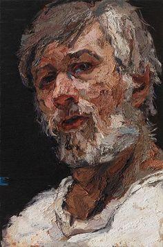 Piet Peere Abstract Portrait, Portrait Art, Portraits, Human Painting, Figure Painting, Michael Borremans, Newspaper Art, Beautiful Paintings, Modern Paintings