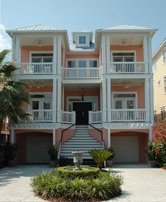 Coastal Home Plans - Yacht Harbor Place