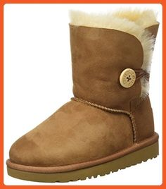 UGG Australia Bailey Button Boot Kids, Chestnut, 4 M - Boots for women (*Amazon Partner-Link)