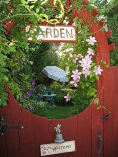 Another peek through the garden gate | Flickr - Photo Sharing!