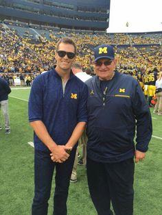 Michigan Athletics, Michigan Wolverines Football, University Of Michigan, Bo Schembechler, Go Blue, Tom Brady, American Football, College Football, Football Players