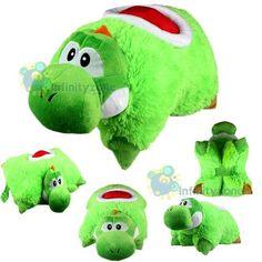 Super Mario Bros Yoshi PET PILLOW
