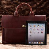 Leather Laptop Bag/briefcase - Profession Executive Business Laptop Bag for Man or Women by Twisted Leather Bags