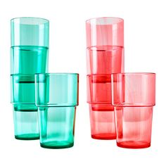SOMMAR 2015 Glass, $4.99 for a four-pack,  IKEA. Buy real glasses, just don't make them expensive.