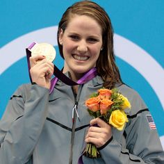 MIssy Franklin's first gold medal :)