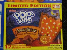 Pop Tarts, Spookylicious Frosted Chocolate Fudge.
