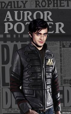 Auror Potter by ~nhu-dles on deviantART