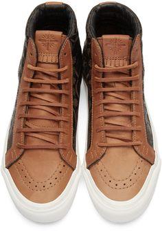eb9b7e83f4 Vans - Brown Taka Hayashi Edition OG SK8-HI LX Sneakers