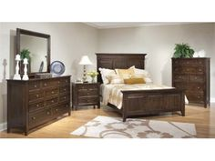 Najarian Furniture Sonoma Panel Customizable Bedroom Set Bedroom
