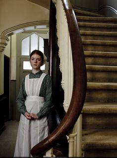 downton abbey gwen | Downton Abbey - Gwen Dawson/Rose Leslie #1: Because she may have moved ...