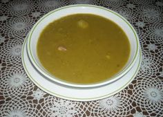 Chicharos - Pea Soup-one of my favorites.
