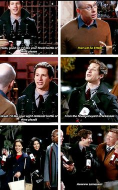 Brooklyn Nine nine. Samesies!! Lol