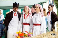 Folk costumes from Biłgoraj, Poland.