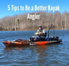 These 5 essential kayak bass fishing tips will you help you catch more fish. Apply these tricks next time you are on the water in kayak to make your fishing experience that much richer.