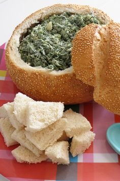 Spinach Dip in a Cob Loaf It's not a party until you've tried Melissa's Spinach Dip in a Cob Loaf. Spinach Dip in a Cob Loaf It's not a party until you've tried Melissa's Spinach Dip in a Cob Loaf. Cob Loaf Spinach Dip, Cob Loaf Dip, Spinach And Cheese, Loaf Recipes, Dip Recipes, Irish Recipes, Party Recipes, Easter Recipes, Cake Recipes