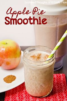 Scattered Thoughts of a Crafty Mom: Apple Pie Smoothies (Plus Win These Blenders!) #smoovember