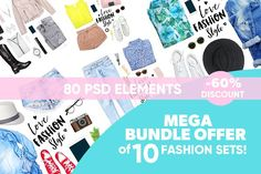 Mega Bundle Offer of 10 sets by Trefilova Anna on @creativemarket