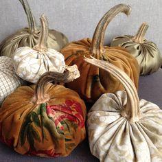 DIY Weekend: Fabric Pumpkins |