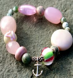 Zoisite Gemstone Bracelet  Check it out now!: http://www.ekdesignsjewelry.com/Merchant2/merchant.mvc?Screen=PROD&Store_Code=EDJ&Product_Code=gem00018&Category_Code=beads $50.00 #Gemstonebracelets #Graduationbracelets #Elasticgemstonebracelets #Healingbracelets #Gemstonejewelry