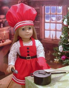 What a cute holiday idea for an American Girl Doll!