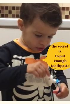 """Matti is brushing his teeth after eating some Halloween candies. He is asking for more toothpaste. * Thanks for the Music: """"Rhastafarian"""" by Audionautix is l. Brushing, Toddler Activities, Candies, Teeth, Toddlers, Halloween, Kids, Young Children, Young Children"""