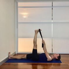 How can Iyengar yoga help to reduce lower back pain? This post shows yoga poses that help to address the link between tight hamstrings and lower back pain.