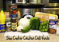 Slow Cooker Chili Chili Verde