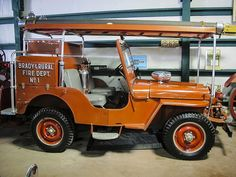 Fire Dept. Engine Willys | Flickr - Photo Sharing!
