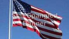 Star Spangled Banner lyrics vocals and beautiful photos, via YouTube.
