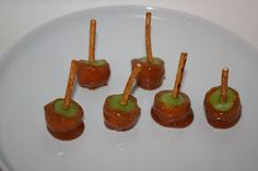 Christy: The Apple: Mini Caramel Apples