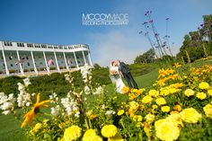 Wedding on Mackinac Island, ceremony and reception at Grand Hotel. Love all the flowers in the Tea Garden for pictures of the bride and groom! -image by McCoyMade 2014- #MackinacIslandWedding #GrandHotelWeddingPhotography #McCoyMadePhotography #NorthernMichiganWedding #PureMichganWedding