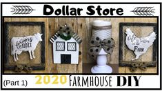 Today I have 4 beautiful Dollar Store and Dollar Tree DIY ! Dollar Tree Decor, Dollar Tree Crafts, Decor Crafts, Diy Home Decor, Diy And Crafts, Dollar Store Hacks, Dollar Stores, Dollar Dollar, Country Farmhouse Decor