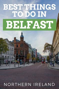 From restaurants to tours to museums and more, these top things to do in Belfast will lead the way for your journey through Northern Ireland. Backpacking Europe, New Travel, Asia Travel, Travel Tips, Travel Ideas, Family Travel, Belfast Northern Ireland, Dublin Ireland, Cork Ireland
