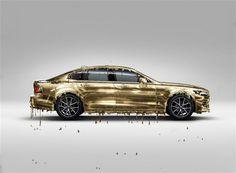 Volvo s90 Gold Edition – Yago Design