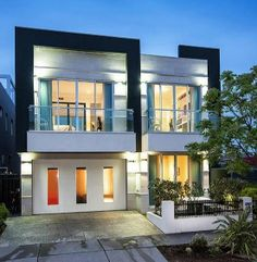 Modern Facade, House