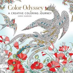 Color Odyssey  Chris Garver is best known as an in-demand tattoo artist and a former star of the TLC television show Miami Ink. He is also a highly skilled illustrator, as evidenced by the collection of stunning, intricate drawings in Color Odyssey. Adult coloring book fans will be thrilled by the quality of Chris's work, which rivals the most beautiful books in this genre. Featuring double-sided pages of mostly hand-drawn images, Color Odyssey is indeed a journey into a beautiful work of…