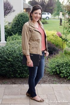 Fall Outfit Featuring the LOFT Autumn Anorak
