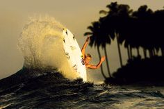During the filming for Scratching the Surface, Dusty Payne was leaving very little surfboard in the water on his frontside tail-blows. Photo: Childs  Best Photos of 2010   SURFER Magazine