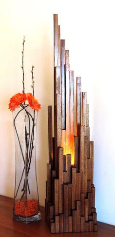 lampe à poser lampe en bois massifLUXE éclairage by woodlampdesign